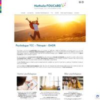 création site psychologue Cairanne Vaucluse