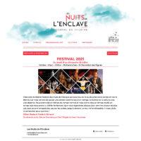 création site théâtre Vaucluse